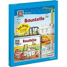WAS IST WAS Junior Geschenkset Baustelle: Erstes Sachbuch mit Spielen, Rätseln & Hörspiel-CD