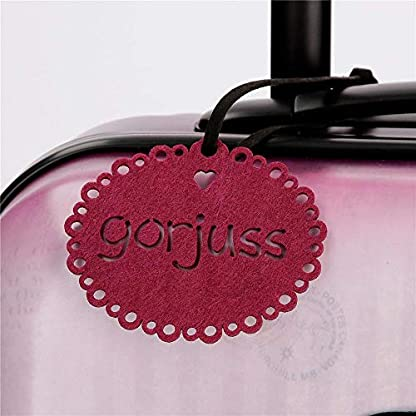 510k4u%2BOZcL. SS416  - Gorjuss Sugar and Spice Juego de Maletas, 67 cm, 97 litros, Morado