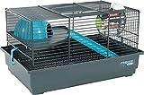Zolux Indoor Gabbia per Mouse/Criceto per Piccolo Animale Blu 40x 25,5x 21,5cm