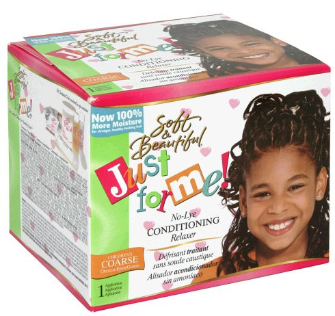 Soft&Beautiful Just for me! No Lye Condit. Creme Relaxer SUPER KIDS