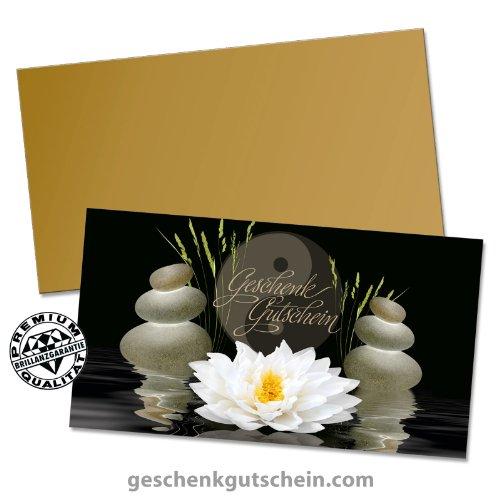 """10 Stk. Premium Geschenkgutscheine Gutscheine zum Falten""""Multicolor"""" + 10 Stk. Kuverts für Massagen, Physiotherapie und Wellness MA229, LIEFERZEIT 2 bis 4"""