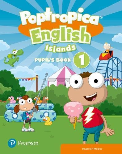 Poptropica English Islands Level 1 Handwriting Pupil's Book and Online Game Access Card