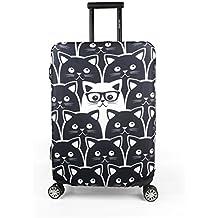 """Maddy's Home élastique Housse de valise, coffre valise valise coque housse de valise Luggage Cover Étui avec fermeture éclair pour 23""""–32"""""""