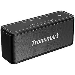 Tronsmart Mega Altavoz Bluetooth Estéreos Premium 40W con Radiador Pasivo, Altavoz inalámbrico Portátil Subwoofer, 3D Sonido Digital con 15 Horas de Emisión Continua Manos Libre- Negro