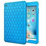 MoKo Case per Apple iPad Mini 3 / 2 / 1, Custodia Leggera Anti-urti di Silicone / Paraurti Protettivo per iPad Mini 1 / Mini 2 / Mini 3, Blu