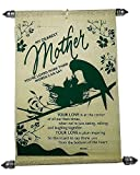 Saugat Traders Mother's Day Gift Mom Scroll Card