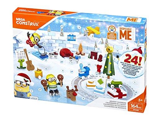Mega Bloks Cattivissimo Me 3 Calendario dell'Avvento Minion, FFC88