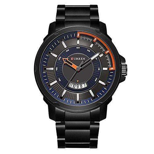 Randon Herren Uhren Big Zifferblatt Classic Design mit -