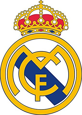Stickersnews - Sticker autocollant foot Real Madrid Dimensions - 30x30cm
