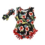 Best Vêtements de bébé fille - Bonjouree 2pc Barboteuse Bebe Fille et Bandeau à Review