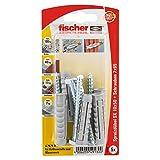 Fischer Spreizdübel SX 10 x 50 SK SB-Karte, 5 x 6-kt-Schraube 7 x 65, 049130