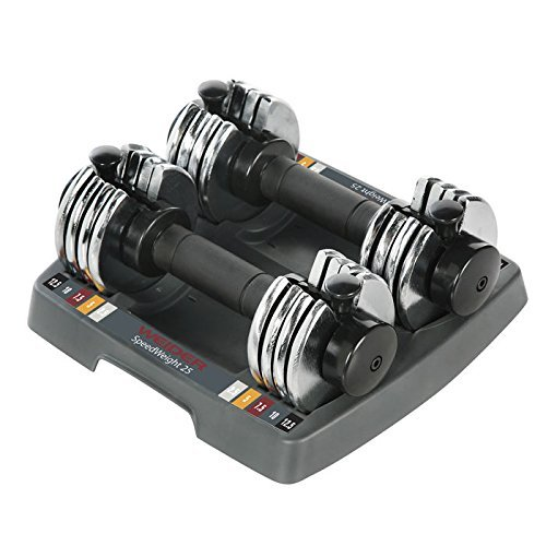 Weider PowerSwitch 12.5 lb. Adjustable Dumbbell Set by Weider