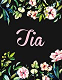 Best Tia Gifts - Tia: Personalised Name Notebook/Journal Gift For Women Review