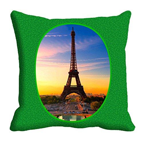 meSleep Eiffelturm Kissenbezug Boden Sitzmöbel Sofa Taille Kissen Fall 12