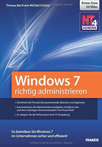 Windows 7 richtig administrieren Windows 7-taschenbuch