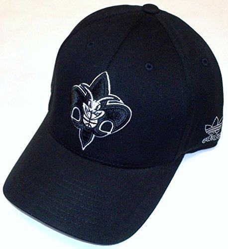 adidas NBA New Orleans Hornets Tt57Z Struktur, Schwarz, Herren, schwarz, Small/Medium Adidas Spandex Cap