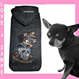 XXS Monster Kross Woll Chihuahua Hundemantel Hunde Pullover Hoodie für