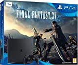 Sony Playstation 4 1TB + Final Fantasy XV 1000GB Wifi Negro - videoconsolas (PlayStation 4, 8000 MB, GDDR5, AMD Jaguar, AMD Radeon, 5 - 35 °C)