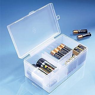 Batterie-Box, Aufbewahrungsbox für alle Batterie-Arten