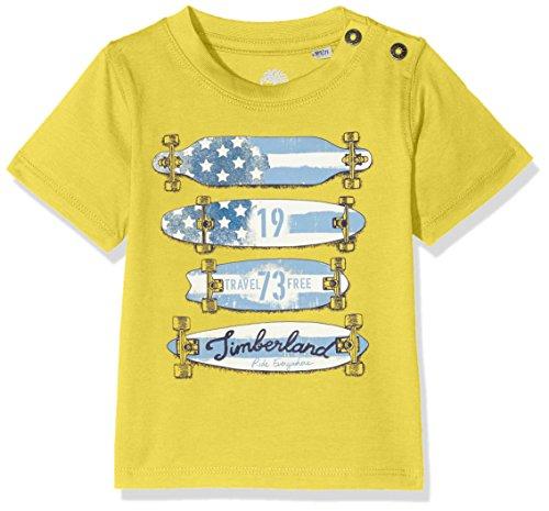 Timberland Baby-Jungen Tee Courtes T-Shirt, Grün (Acid Green 613), 3 Jahre (Hersteller Größe: 03A) -