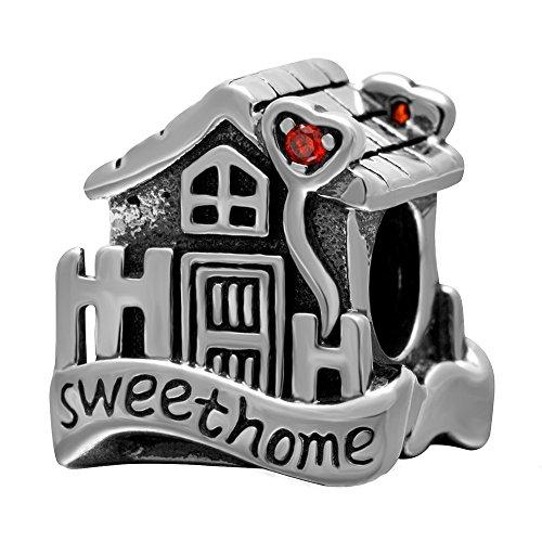 Charm, casa dolce casa, con scritta in lingua inglese