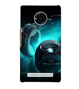 Citydreamz Music\Headphones\Sound System Hard Polycarbonate Designer Back Case Cover For Micromax YU Yuphoria 5010