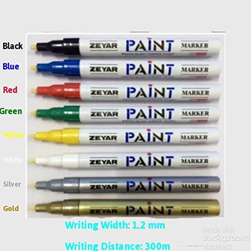 blanco-12-mm-universal-impermeable-permanente-marcador-de-pintura-pluma-aceite