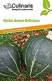 Kürbis Green Delicious   Bio-Kürbissamen von Culinaris Saatgut