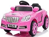 Trendsky Sportwagen Speed Akku Fahrzeug Kinderauto Sport Kinderfahrzeug Elektronik Kind Cabrio Auto Kid Car LED,USB,MP3