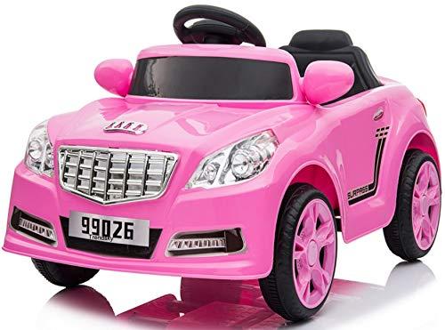 Trendsky Elektro Sportwagen Speed Akku Fahrzeug Kinderauto Sport Kinderfahrzeug Elektronik Kind Cabrio Auto Kid Car LED,USB,MP3 (Cars Für Kids)