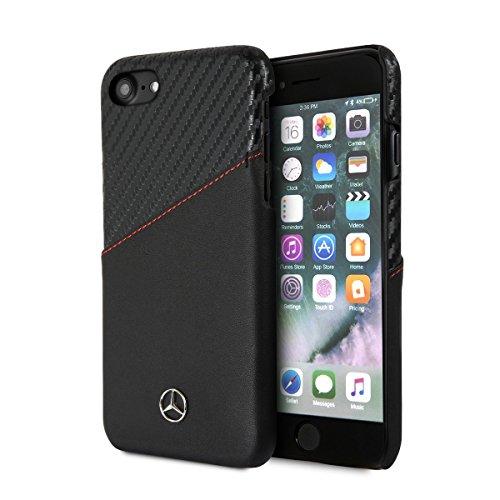 Image of Mercedes-Benz Mercedes MEHCI8CSCALBK Benz CG Mobile Handyhülle für Apple iPhone 8/7 schwarz