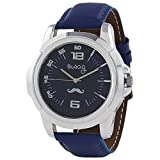 Swag Mustache Analogue Blue Dial Men's W...