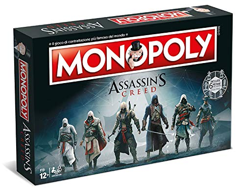 Winning Moves Monopoly - Assassin's Creed, Farbe Blau, 1