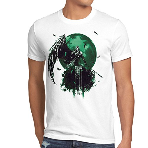 style3 Sephiroth VII Men's T-Shirt fantasy avalanche role-playing game ps ios japan