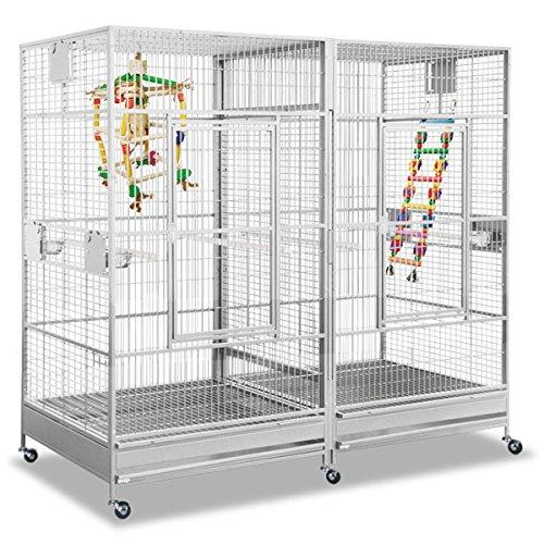 Montana Cages ®   Papageienkäfig, Voliere XXL, Käfig XXL, Arkansas II - Platinum
