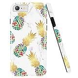 Doujiaz Coque pour iPhone 5, 5S, Motif marbre, coque en silicone doux Pour iPhone 5 5S SE