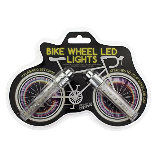 Paladone Unisex Emporium–Luces LED para ruedas de bicicleta, multicolor