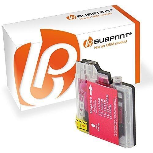 Bubprint Druckerpatrone kompatibel für Brother LC-1100 LC-980 für DCP-145C DCP-195C DCP-375CW DCP-J715W MFC-490CW MFC-5890CN MFC-6490CW Magenta -
