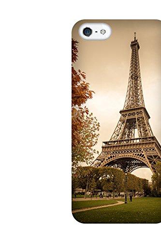 iPhone 4/4S Coque photo - Tour Eiffel Retro