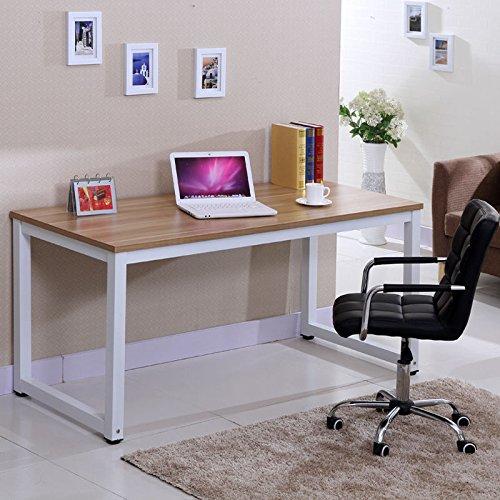 Computertisch Computerschreibtisch Arbeitstisch Bürotisch Holz Metall (Holz) (L-form Holz-computer-schreibtisch In)