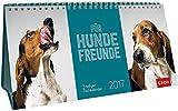 Für Hundefreunde 2017: 3-teiliger Tischkalender mit Monatskalendarium
