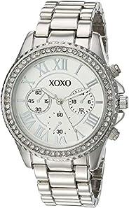 XOXO Womens Quartz Watch, Analog Display and Stainless Steel Strap XO5936AZ
