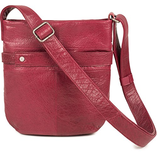 Sienna S10 Grey Ladies Handbag Two Blood