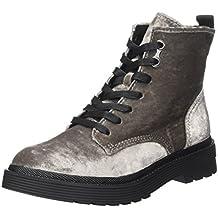 d6d99569bb7 Amazon.es  botas militares mujer - Plateado