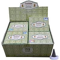 Räucherkegel Goloka Patchouli Dhoop Cones 12 Schachteln 120 Kegel mit Halter Duft Aroma Großpackung Vorrat preisvergleich bei billige-tabletten.eu