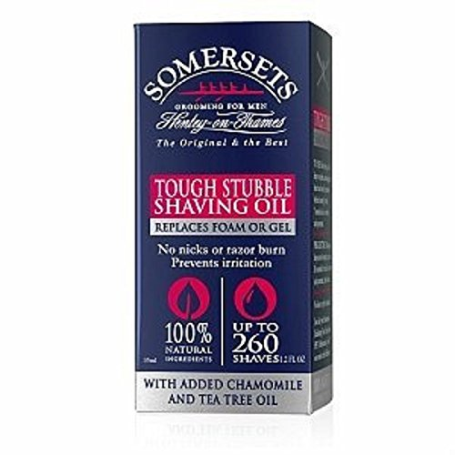 Somersets Shaving Oil 35ml by Somersets (English Manual)