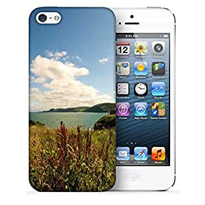 Snoogg Sea View Printed Protective Phone Back Case Cover For Apple Iphone 5 / 5S