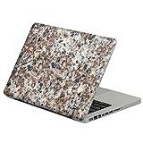 ROUHO Abnehmbare Bunte Marmormuster Selbstklebende Front & Schwarzer Haut Aufkleber Für MacBook 13 inch-MacBook Pro Retina 13inch