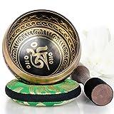 Silent Mind~ Cuenco Tibetano diseño equilibrado y armonioso ~ Ideal para la meditación,...
