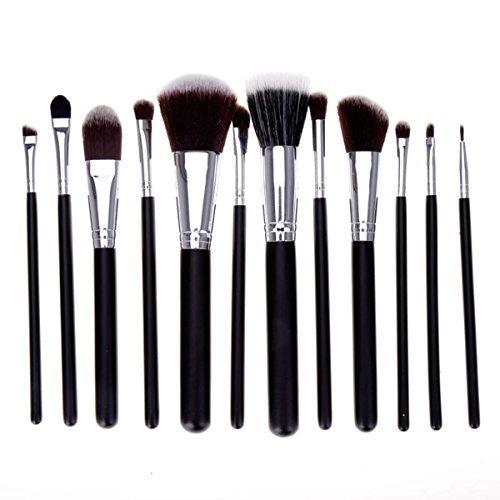 Zeagoo 12Pcs Pinceaux Professionnel De Maquillage Lot Économique